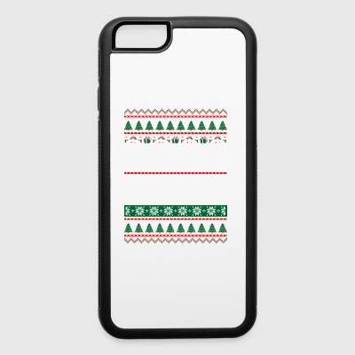 Sleep With Awesome Physician White Christmas - iPhone 6/6s Rubber Case