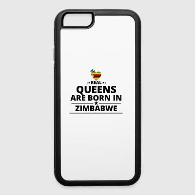 GESCHENK QUEENS LOVE FROM ZIMBABWE - iPhone 6/6s Rubber Case