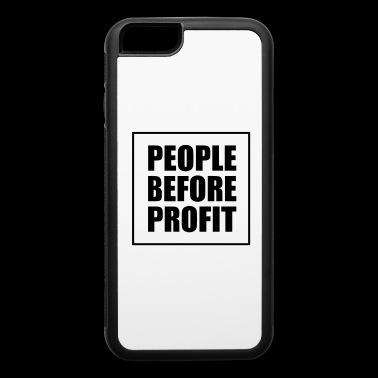 People Before Profit - Human Rights Statement - iPhone 6/6s Rubber Case