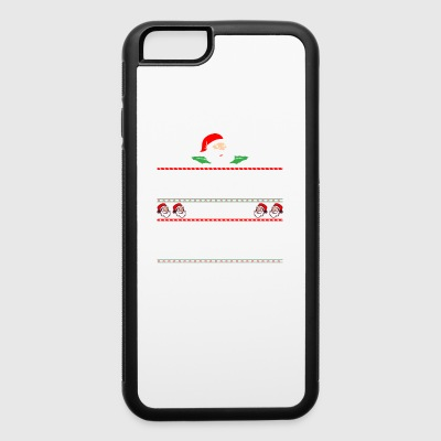 Be Nice To Coast Guard Santa Is Watching - iPhone 6/6s Rubber Case