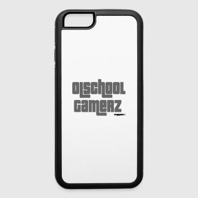 Olschool gamerz gray - iPhone 6/6s Rubber Case