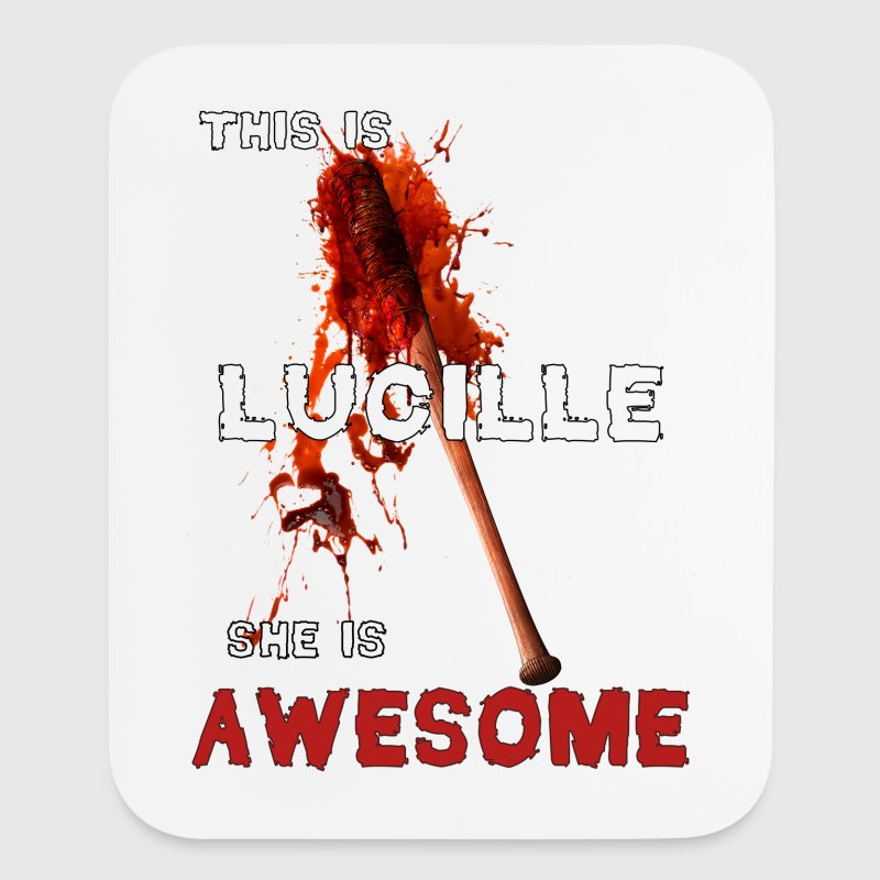 This is Lucille She is AWESOME - Mouse pad Vertical