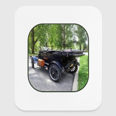 Model T With Luggage Rack - Mouse pad Vertical