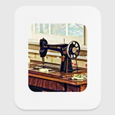 Sewing Machine in Kitchen - Mouse pad Vertical