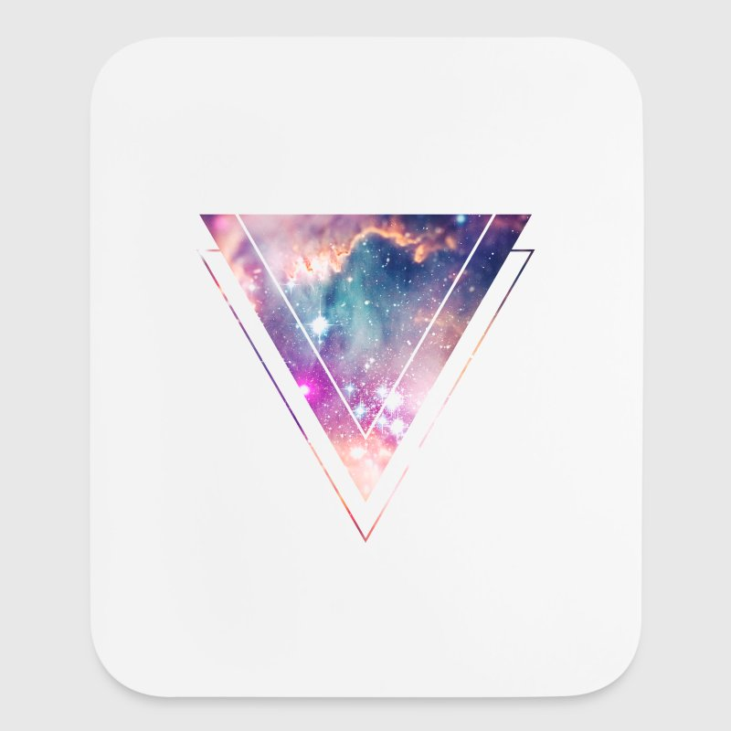 Galaxy - Space - Universe / Hipster Triangle - Mouse pad Vertical