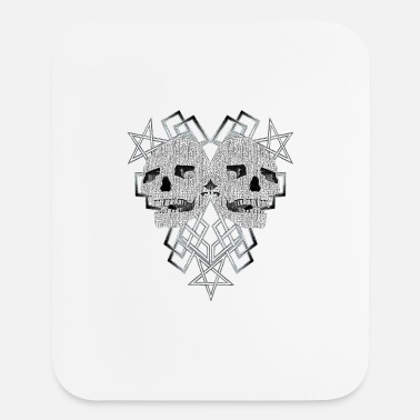 Pentacle Pentacle and skulls 1 - Mouse Pad