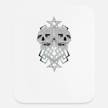 Pentacle Pentacle and skulls 2 - Mouse Pad