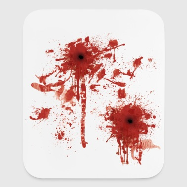 blood - Mouse pad Vertical