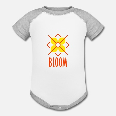 Bloom Bloom - Contrast Baby Bodysuit
