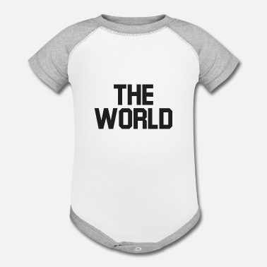 World The world - Contrast Baby Bodysuit