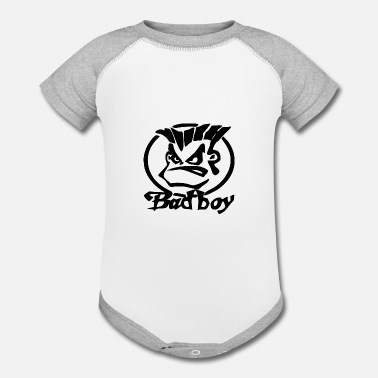 Bad Bad Boy - Contrast Baby Bodysuit