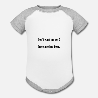Pickup Line Beer Slogan Pickup Line Party Celebration Gift - Contrast Baby Bodysuit