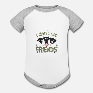 07301562b I Don't Eat My Friends Animal Love Vegan AF Gift Organic Short ...