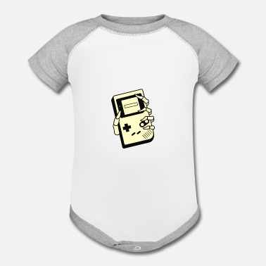 Games GAMING IS FOREVER - Contrast Baby Bodysuit