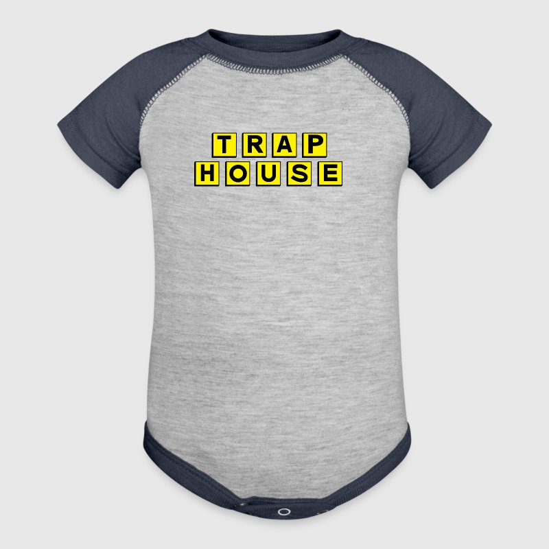 Trap House - Baby Contrast One Piece