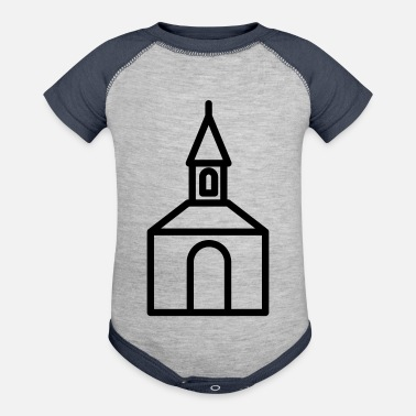 Church Church - Contrast Baby Bodysuit