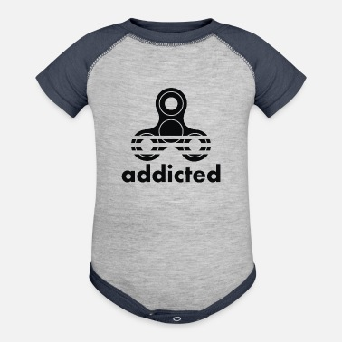 Addicts Addicted - Contrast Baby Bodysuit