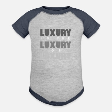 Luxury - Baseball Baby Bodysuit