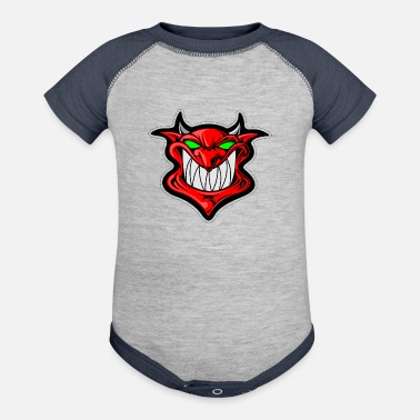 Devil Male Devil - Baby Contrast One Piece
