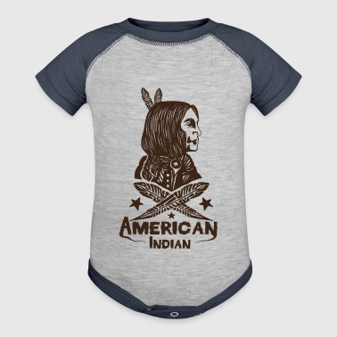 American Indian - Baby Contrast One Piece