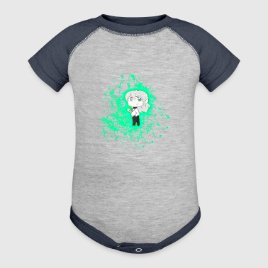Chibi Nullify Paint Splatter - Baby Contrast One Piece