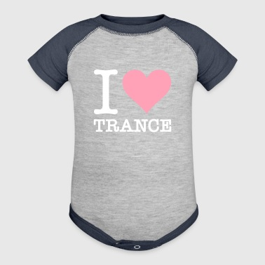 Trance I Love Trance - Baby Contrast One Piece