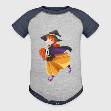 witch - Baby Contrast One Piece