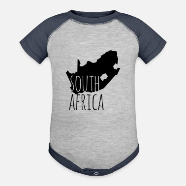 South South Africa - Baseball Baby Bodysuit