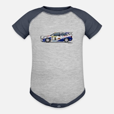 Ford Ford Escort RS Cosworth Rally Monte Carlo - Contrast Baby Bodysuit