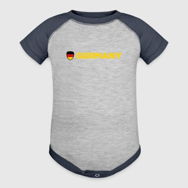 National Flag Of Germany - Baby Contrast One Piece