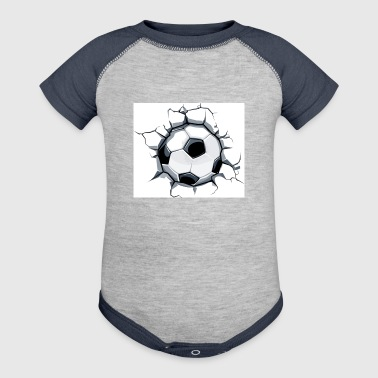 Soccer ball - Baby Contrast One Piece