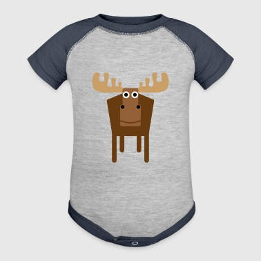 Moose - Baby Contrast One Piece