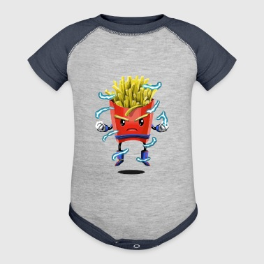 Saiyan Fries - Baby Contrast One Piece