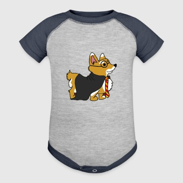 Corgi Potter - Baby Contrast One Piece