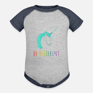 Different Be Different - Contrast Baby Bodysuit