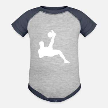 Sports Soccer Player Sports Game - Contrast Baby Bodysuit