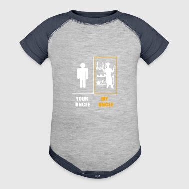 My uncle Chef T-Shirts - Baby Contrast One Piece