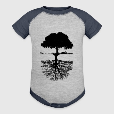 Tree - Baby Contrast One Piece