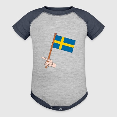 sweden - Baby Contrast One Piece