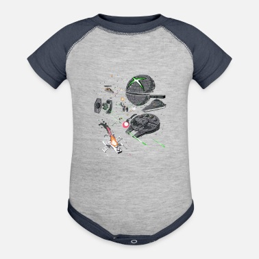 Console Console Wars - Contrast Baby Bodysuit