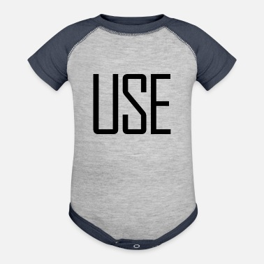 Used USE - Baseball Baby Bodysuit