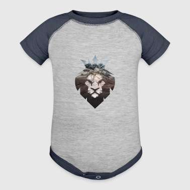 African Lion - Baby Contrast One Piece