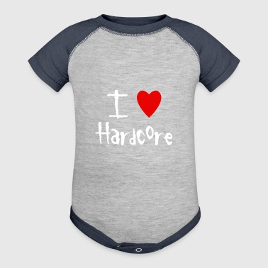 I love Hardcore - Baby Contrast One Piece