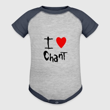Chant I love - Baby Contrast One Piece