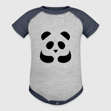 Panda - Baby Contrast One Piece