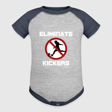 Eliminate Kickers - Baby Contrast One Piece