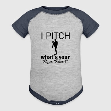 pitch design - Baby Contrast One Piece