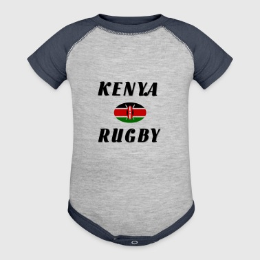 Kenya rugby - Baby Contrast One Piece