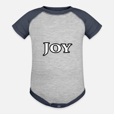 Joy Joy - Baseball Baby Bodysuit