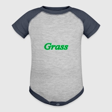 grass - Baby Contrast One Piece